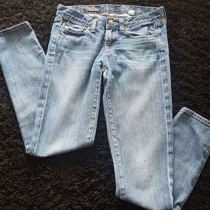 J. Crew Toothpick Ankle Jeans Sz 26T
